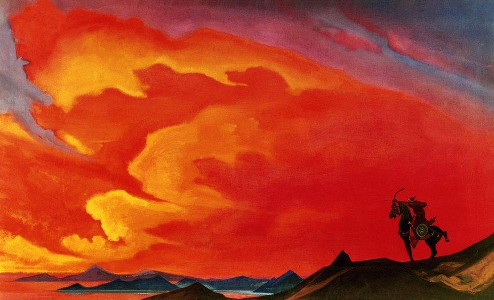 Николай рерих галерея картин